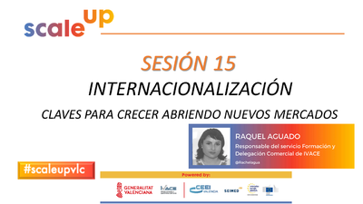 SCALE UP 2021 - SESION 15