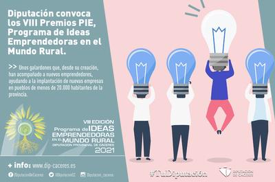 VIII Premios Programa de Ideas Emprendedoras en el Mundo Rural 2021