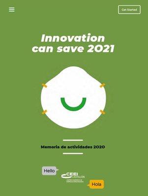 Memoria de Actividades CEEI Castellón 2020