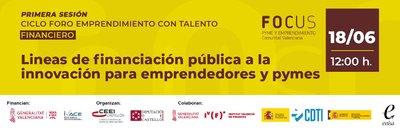 Líneas de Financiación pública a la innovación para emprendedores y pymes