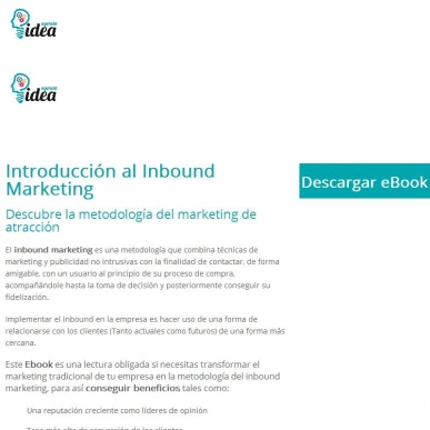 DESCARGA EBOOK INTRODUCCIÓN AL INBOUND MARKETING